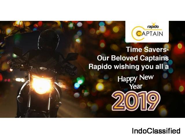 Rapido Bike Taxi Hiring