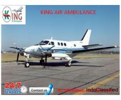Air ambulance provision by King Air Ambulance in Allahabad
