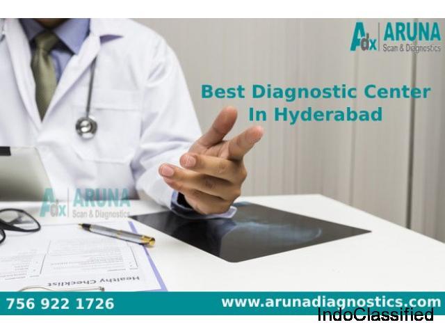 Best Diagnostic Center in  Hyderabad
