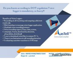 Do you know according to DOT regulation Voice logger is mandatory, so hurry!!