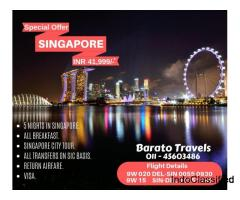 Book Singapore Tour Package at Rs. 41,999/-*