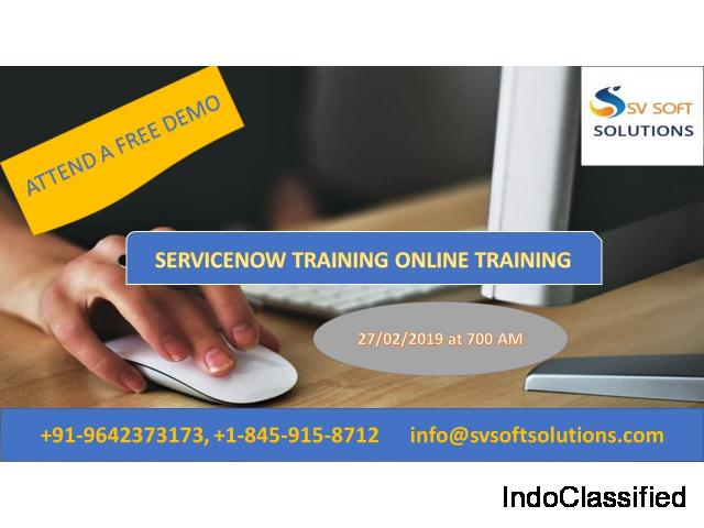 Servicenow Online Training Institute in Hyderabad