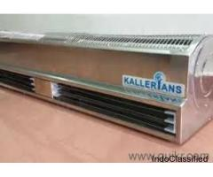 Electric air Curtains, Wall Mounted Door Air curtains, Food Industry... kallerians