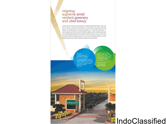 Open plots for sale in Excellent Location with all amenities