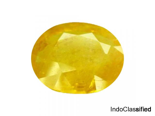 Pukhraj Stone Original Certified Yellow Sapphire Gemstone Process of wearing & Benefit