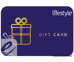 Buy LIFESTYLE Gift Cards| LIFESTYLE Gift Vouchers Online