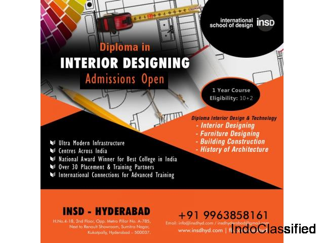 Interior Design Institute In Hyderabad