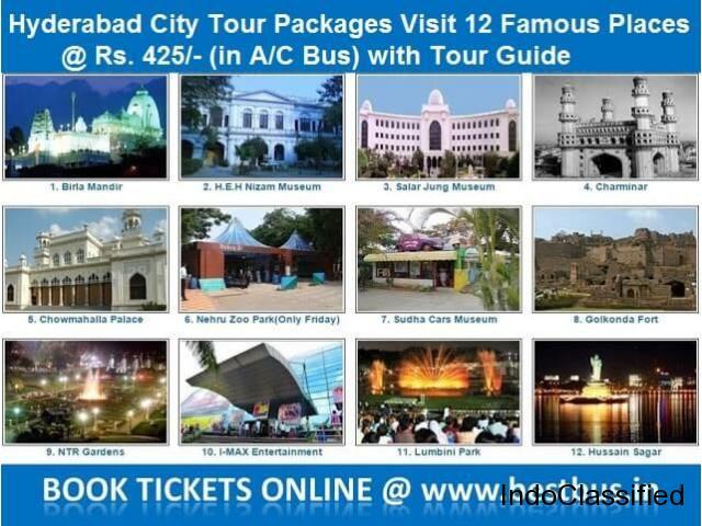 1 Day Hyderabad City Tour - Hyderabad Sightseeing - Hyderabad Darshan Tour