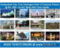 1 Day Hyderabad City Tour - Hyderabad Sightseeing - Hyderabad Darshan Tour