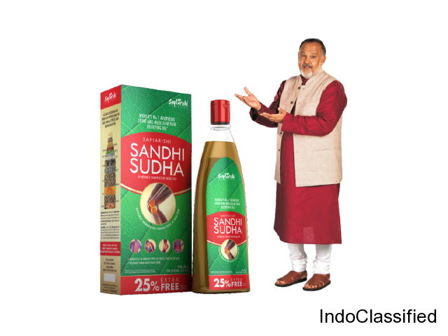 Say No to Joint Pain|Sandhi Sudha Ayurvedic Oil