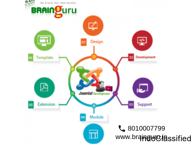 joomla website development in Noida | Brainguru Technologies