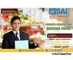 Hotel Management Institute in Chennai