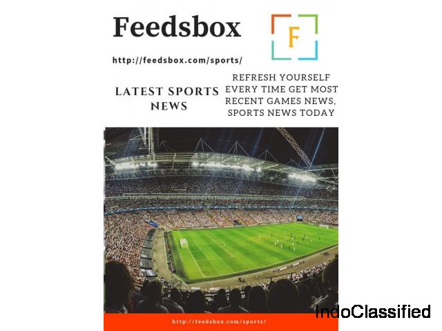 Latest sports news today