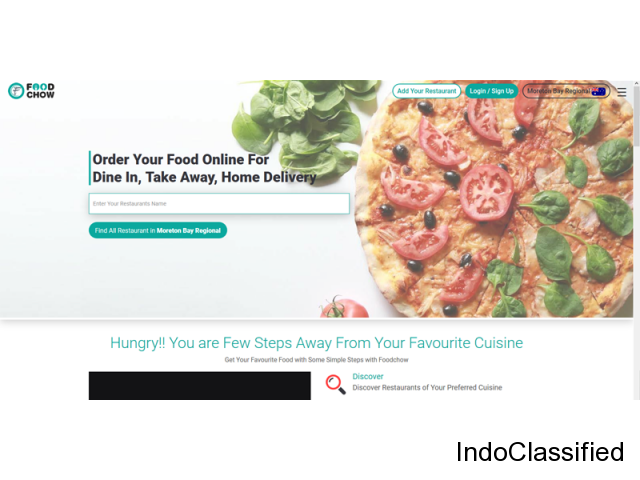 Online food order in india