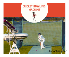Cricket Bowling Machine is the Best Amenity for Cricket Players
