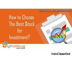 6 Steps to choose the Best stock for Investment