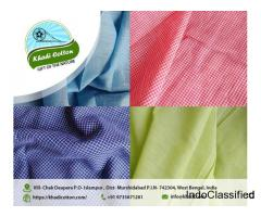 Khadi Fabric Manufacturer & Exporter in West Bengal