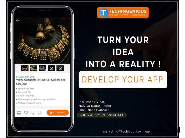 TechIngenious-The leading mobile app and web development company
