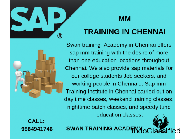 Sap mm Training in Chennai