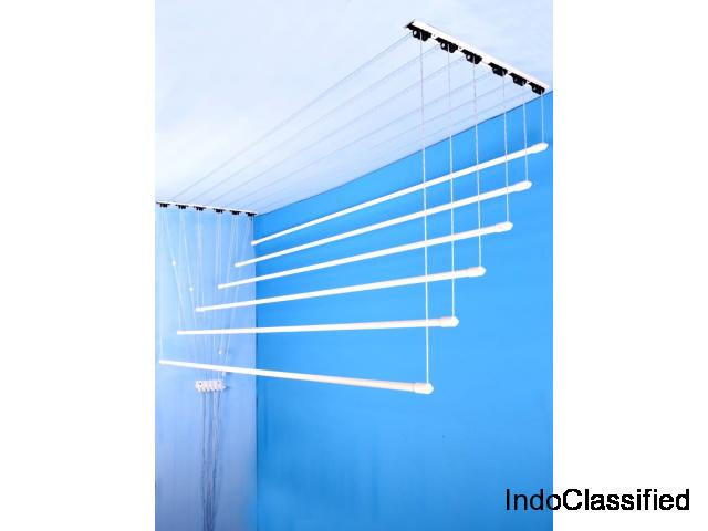 Mehek Marketing Services | Ceiling Cloth Drying Hanger | Pulley Cloth Drying Hanger