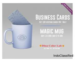 visiting card printing | Photo Mug Printing