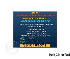JSR Web Creation | Best offer @7999