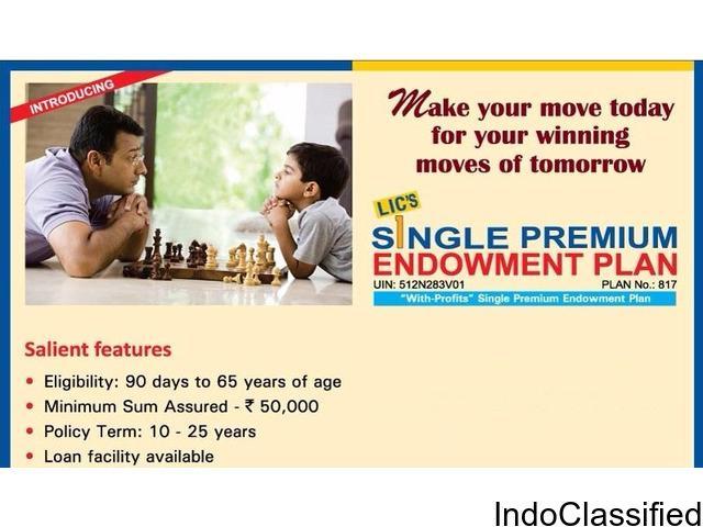 LIC Single Premium Plans 9972660645