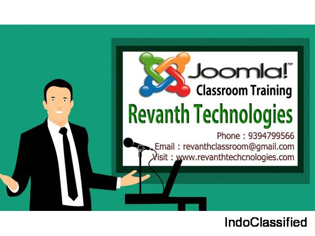 Joomla Classroom Training in Hyderabad