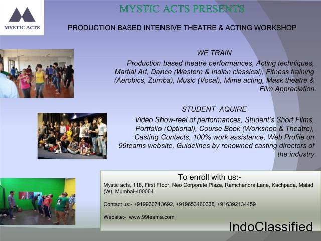 Acting & Theatre workshop with Mystic Acts