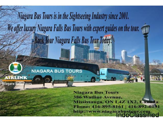 Toronto To Niagara Falls Tour Package | Niagara Bus Tour – Airlink – Niagara Falls Tours