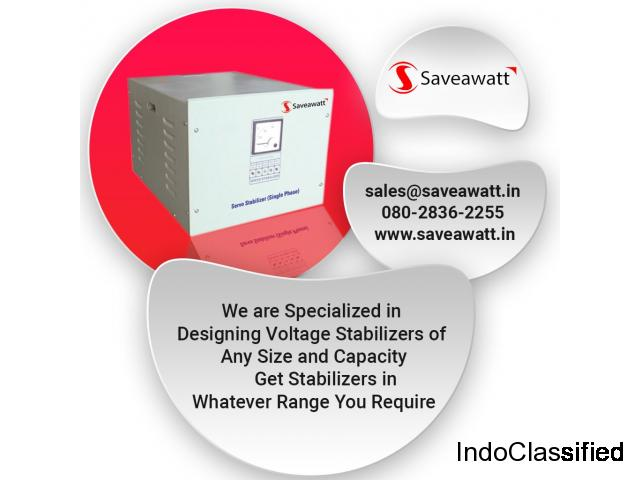 servo stabilizer dealers in bangalore - Saveawatt