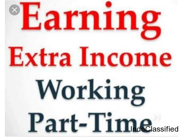 Part time work Earn extra income Data entry work, Add posting job etc.