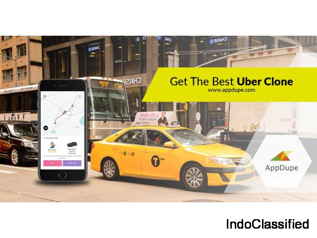 Develop a Uber like app using Appdupe's Uber clone script