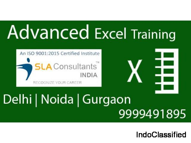 Benefits of Advanced Excel Training Course in Delhi