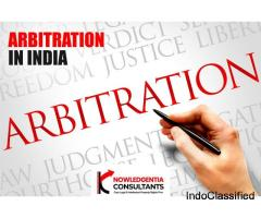 Arbitration in India - Knowledgentia Consultants