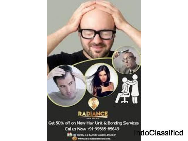 Hair Wigs in Delhi - Radiance Hair Studio