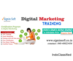 Digital Marketing Training in hyderabad - SigninSoft