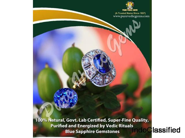 Blue Sapphire Stone Benefits