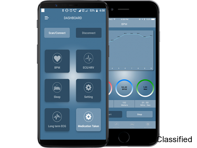 At OneClick See the creative application development with Bluetooth LE