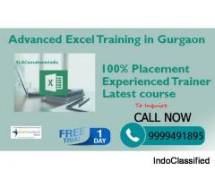 Best Advanced Excel Institute in Gurgaon | Advanced Excel Course in Gurgaon