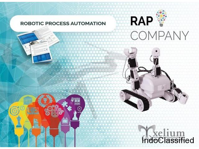 Avail RPA Solutions from a Prominent Robotic Process Automation Company in India
