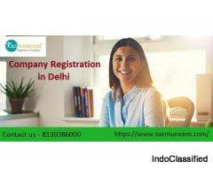 Online Company Registration in Delhi