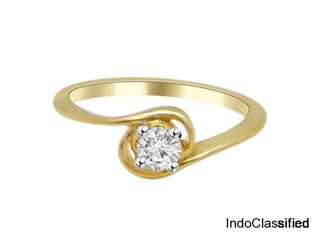 Diamond and Moissanite Ring in Durgajewels - Hyderabad