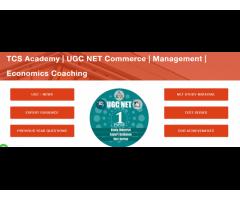 TCS Academy | UGC NET Commerce | Management | Economics Coaching