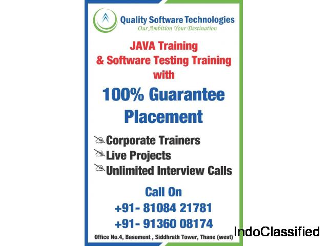 Best Software Testing Training Institute in Thane @ Quality Software Technologies