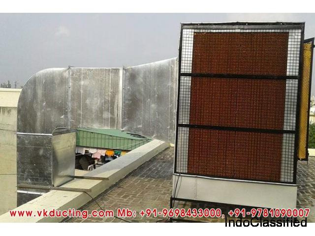 Industrial Steel Ducting, AC Ducting, Air Cooler Ductings in