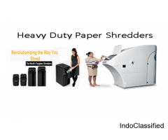 High Capacity Document Shredders