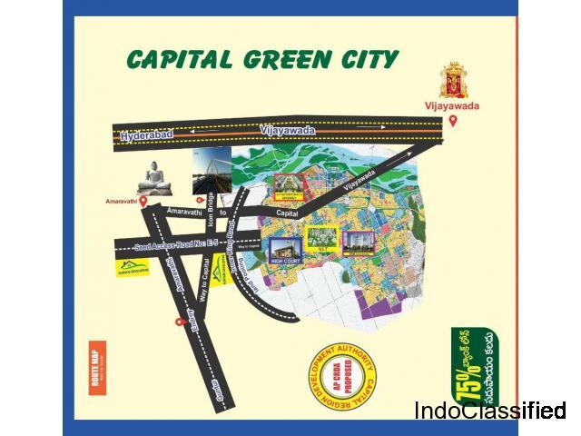 Residential open plots for sale in pedamadduru , Amaravathi