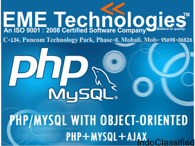 PHP Industrial Training In Mohali|Chandigarh