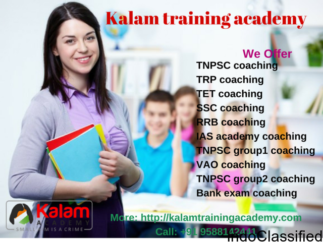 TRB coaching center in chennai|kalam training academy